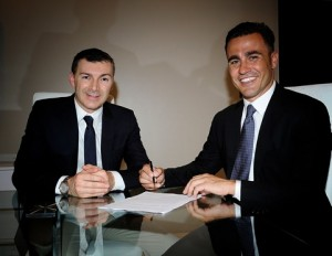 Mirco Dall'Olio owner of Maxima S.p.A. together with Fabio Cannavaro