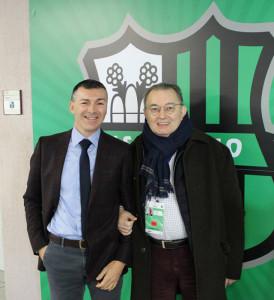 Dott. Mirco Dall'Olio e Dott. Giorgio Squinzi